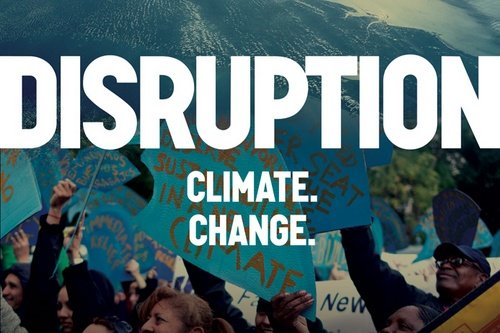 Disruption: Climate. Change.