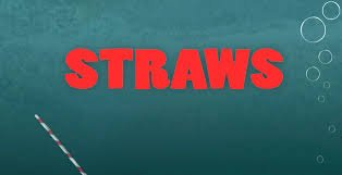 """Two short movies: """"Straws"""" and """"Tapped"""""""