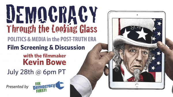 "Online Film Screening & Discussion of ""Democracy Through the Looking Glass"""